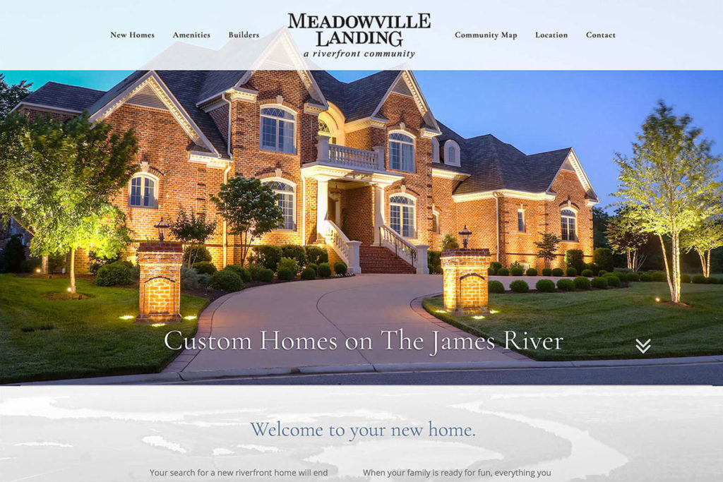 Real Estate Development Website Redesign