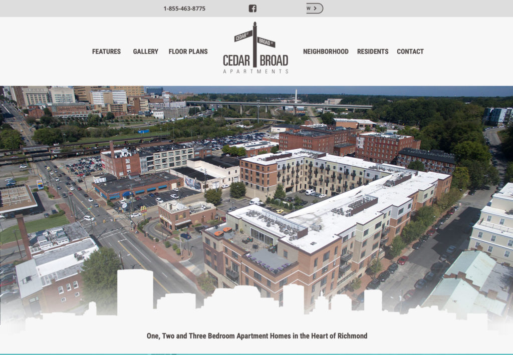 Website Update for RVA apartments